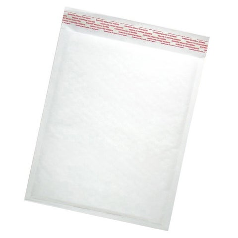 Size #4 Self-seal White Kraft Bubble Mailers
