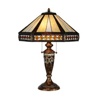26.5-inch Diamond Mission Table Lamp