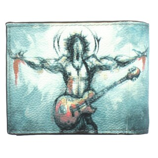 YL Fashion 'Man-2' Men's Leather Bi-fold Wallet