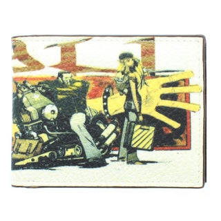 YL Fashion 'Yaali Rock' Men's Leather Bi-fold Wallet