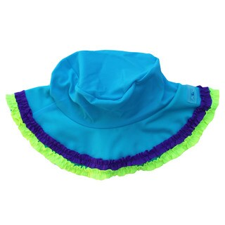 Azul Swimwear Girl's 'Chasing Rainbows' Turquoise Hat (2 options available)
