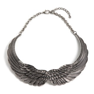 Lisa Silver Winged Necklace