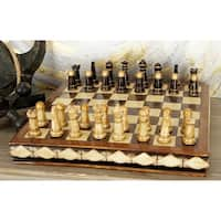 Polystone Chess Set Entertaining Decor