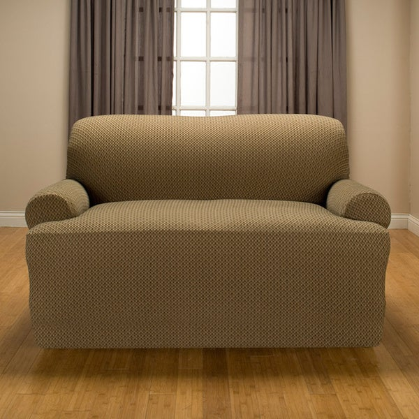 Sanctuary Galway Stretch T-Cushion Loveseat Slipcover