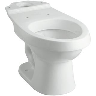 Sterling Rockton 1.6 GPF Elongated Toilet Bowl Only with Dual Force Technology in White