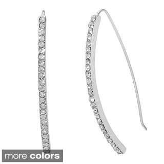 Alexa Starr A-wire Rhinestone Drop Earrings