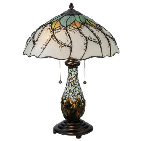 22.5-inch Videira Florale Table Lamp - 22.5