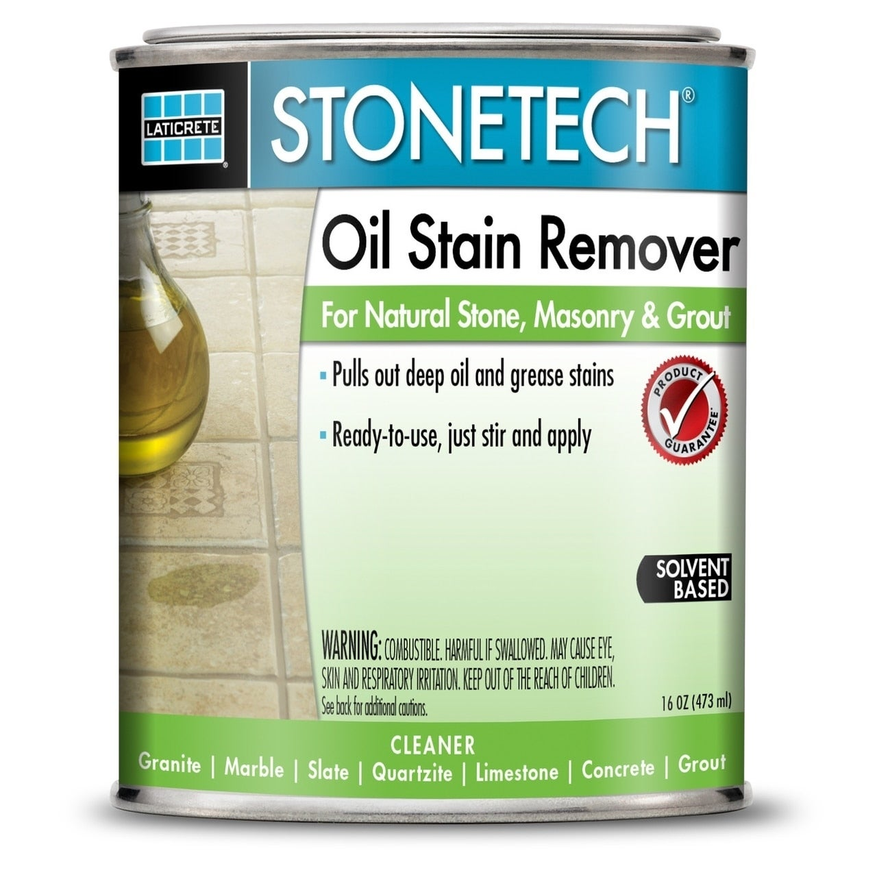 Dupont StoneTech 1-pint Oil Stain Remover (1 Pint), Grey ...