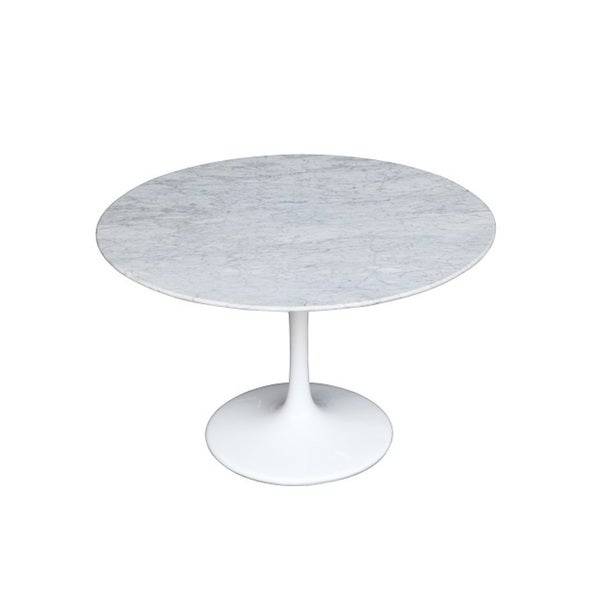 32-inch Flower Marble Tabel