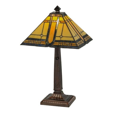 21-inch Sierra Prairie Mission Table Lamp