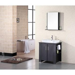 Design Element Washington 30-inch Single Sink Vanity Set
