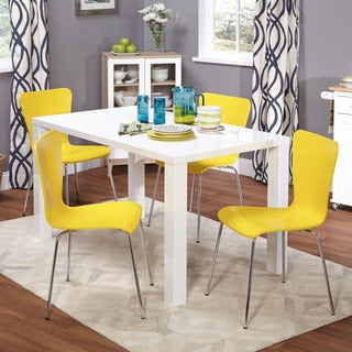 Amisco Amisco Station Metal Chairs and Laredo Table, Dining