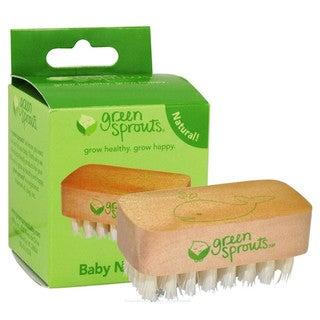 Green Sprouts Nail Brush