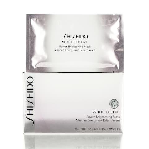 Shiseido White Lucent Power Brightening Masks (Pack of 6)