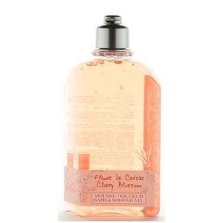 L'Occitane Cherry Blossom 8.4-ounce Bath and Shower Gel|https://ak1.ostkcdn.com/images/products/9535866/P16715205.jpg?impolicy=medium