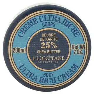 L'Occitane Shea Butter Ultra Rich 7-ounce Body Cream