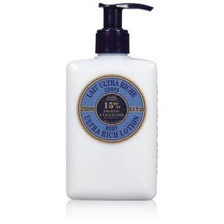 L'Occitane Shea Butter Ultra Rich 8.4-ounce Body Lotion https://ak1.ostkcdn.com/images/products/9535877/P16715216.jpg?impolicy=medium