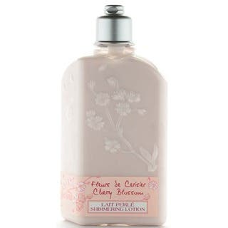 L'Occitane Cherry Blossom 8.4-ounce Shimmering Lotion https://ak1.ostkcdn.com/images/products/9535896/P16715227.jpg?impolicy=medium