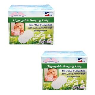 NuAngel All-natural Cotton Biodegradable Cotton Nursing Pads