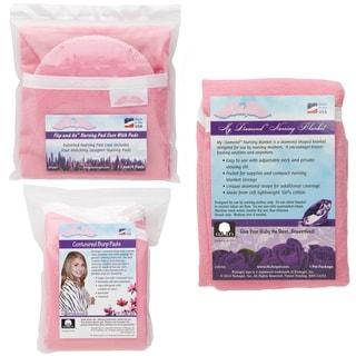 NuAngel Flip and Go Pink Nursing Pads/ Case