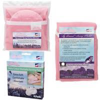 NuAngel Flip and Go Pink Nursing Pad Case Set