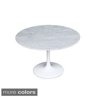 39-inch Flower Marble Table