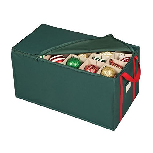 Superbe Richards Homewares 54 Compartment Holiday Ornament Storage Chest