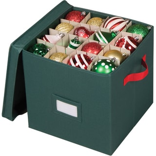 Richards Homewares 64-compartment Holiday Ornament Storage Chest