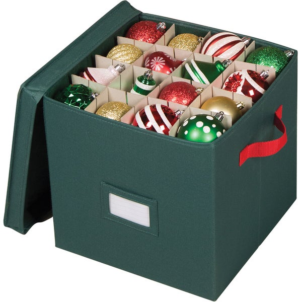 Richards Homewares 64 Compartment Holiday Ornament Storage Chest