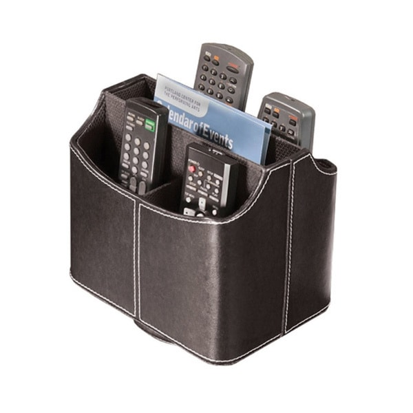 Richards Homewares Remote Control Brown Organizer/ Caddy