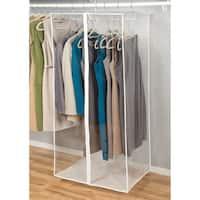 Richards Homewares Clear Vinyl Storage Jumbo Maxi Rack Dress Garment Cover