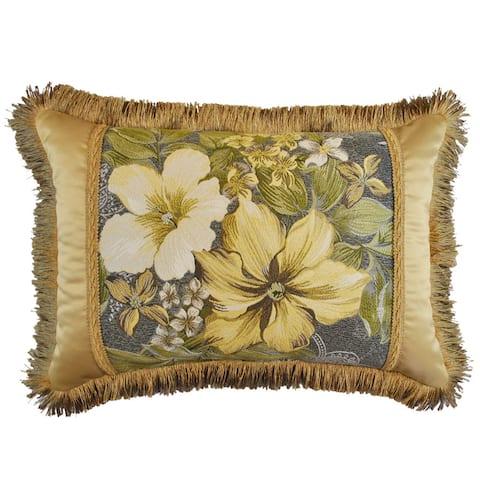 Sherry Kline Oasis Garden Luxury Boudoir Throw Pillow