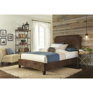 Canterbury Queen Size Upholstered Bed