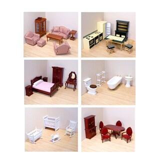 Melissa & Doug Victorian Dollhouse Furniture Bundle