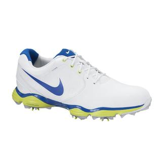 Nike Men's Lunar Control II White/ Blue/ Venom Green Golf Shoes