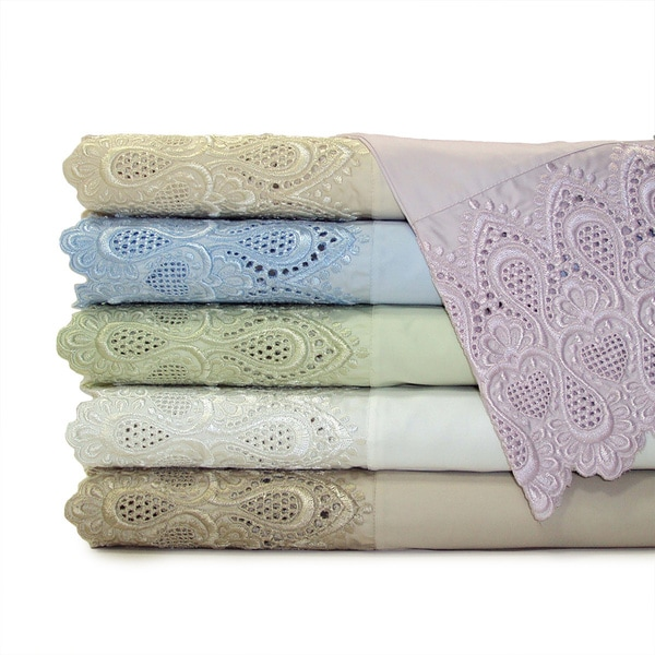 Luxury Lace 600 Thread Count Cotton Rich Sheet Set
