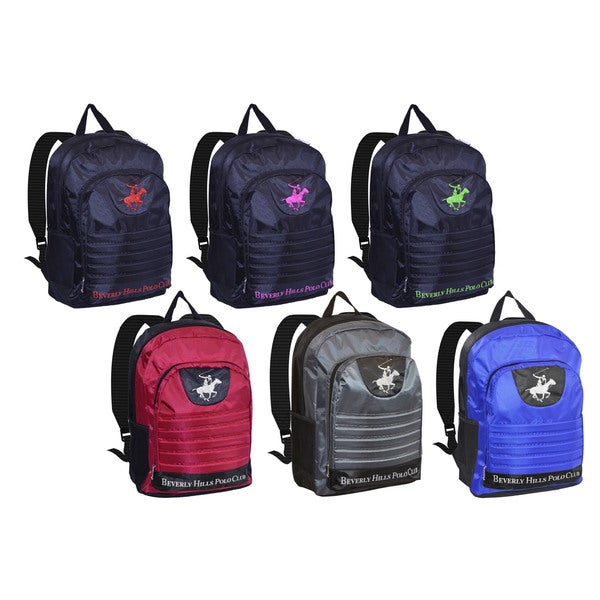 019efeddf Shop Beverly Hills Polo Club 18-Inch Backpack - Free Shipping On ...