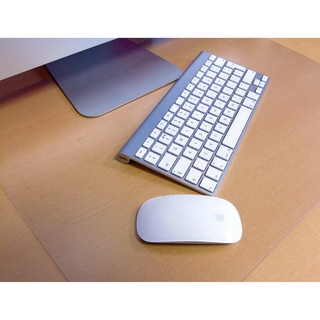 Floortex Pack of 2 - Desktex Polycarbonate Smooth Back Desk Mat Rectangular Shaped (1'5 x 1'10)