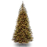 7-foot Aspen Spruce Hinged Tree with 400 Clear Lights