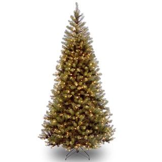 7.5-foot Aspen Spruce Hinged Tree with 450 Clear Lights