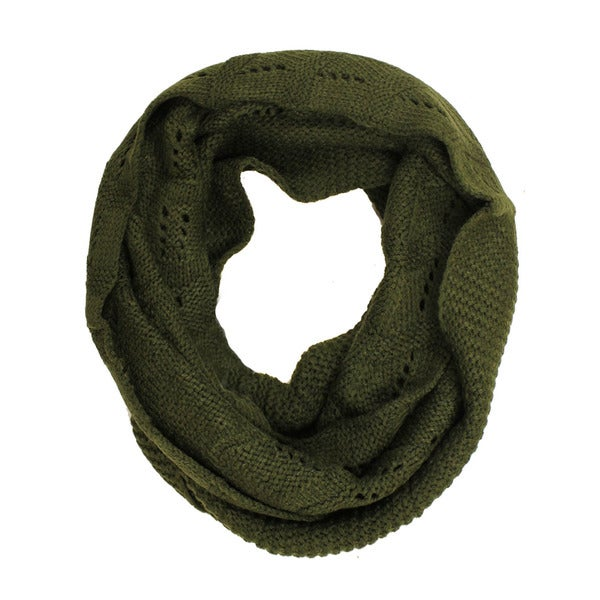 Le Nom Chevron Knit Infinty Scarf