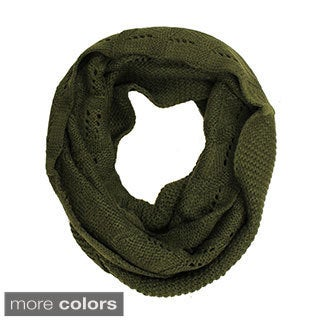 Le Nom Chevron Knit Infinty Scarf