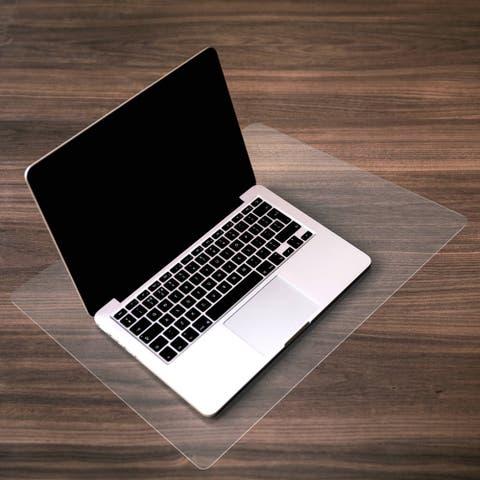 "Desktex Desk Protector Mat Anti-Slip and Super-Strong Polycarbonate Rectangular Size 35"" x 71"" - 35 x 71"