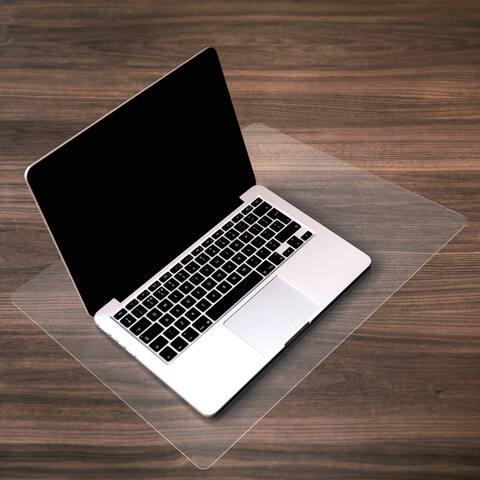 "Desktex Desk Protector Mat Anti-Slip and Super-Strong Polycarbonate Rectangular Size 29"" x 49"" - 29 x 49"