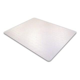 "Floortex Ecotex Enhanced Polymer Rectangular Chairmat for Standard Pile Carpets 3/8-inch or less (48 x 79"")"