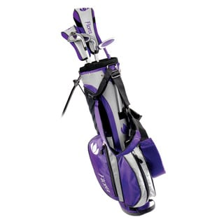 Intech Flora Junior Girls Golf Set Purple Right Hand Youth