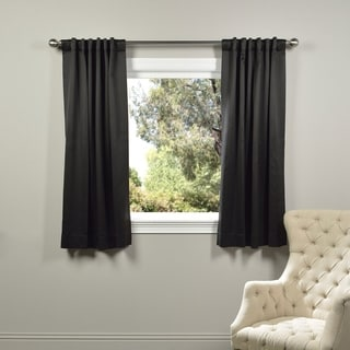 Exclusive Fabrics Thermal Blackout 63-inch Curtain Panel Pair