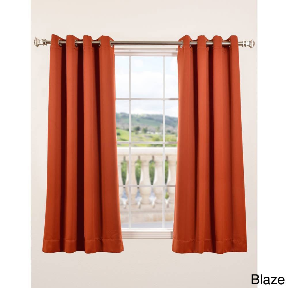 thermal curtains 63 inch length window treatments pare - 63 Inch Curtains