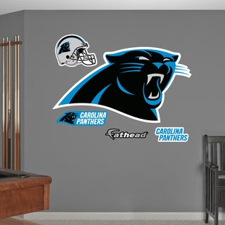 Fathead Carolina Panthers logo Wall Decals