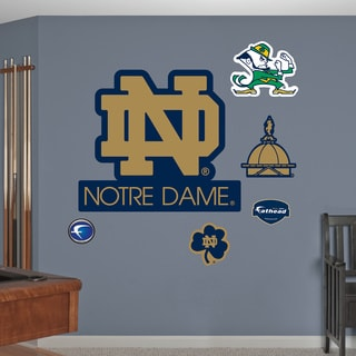 Fathead Notre Dame 'ND' Logo Wall Decals